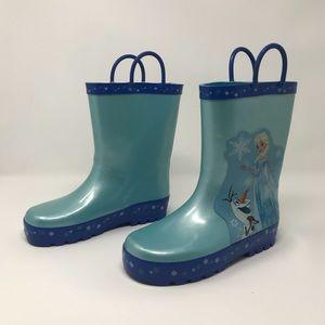 Disney Frozen Rubber Rain Boots